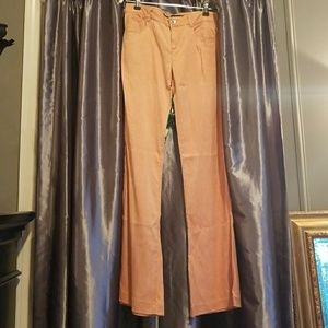 Theory flared cotton jeans 26 super soft